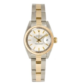 Pre-Owned Rolex Women's 18k Gold over Steel 26MM Datejust Oyster Watch