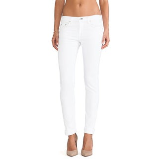 Rag Bone Women's The Dre White Boyfriend Jeans