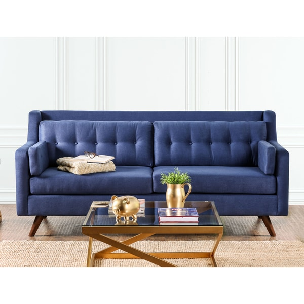 Sofas Couches Denver: Shop Furniture Of America Denver Mid-Century Modern Tufted