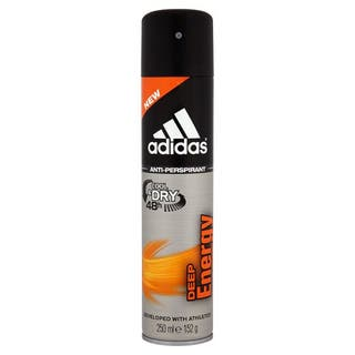 Adidas Deep Energy 8.4-ounce Cool & Dry 48H Antiperspirant Spray|https://ak1.ostkcdn.com/images/products/14415998/P20984078.jpg?impolicy=medium