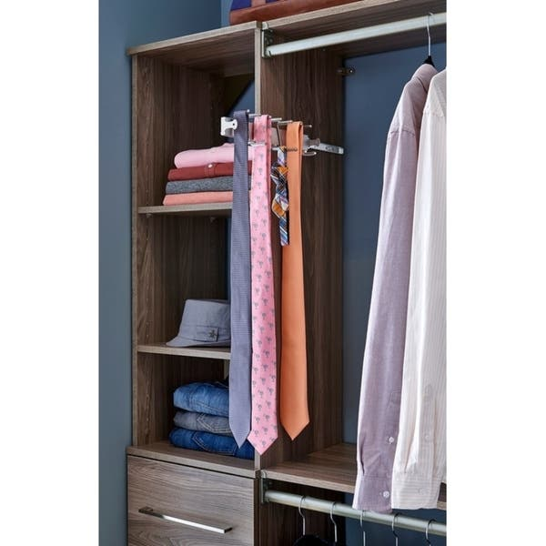 ClosetMaid Sliding Tie and Belt Rack