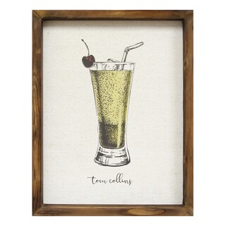 Stratton Home Decor 'Tom Collins' Wall Art