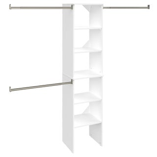 ClosetMaid SuiteSymphony 16-inch Wide Tower Kit (Option: Pure White)