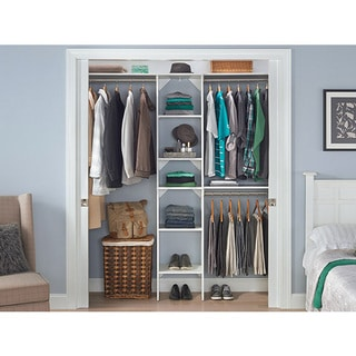 Tiered Tower and Rod Closet Organization System