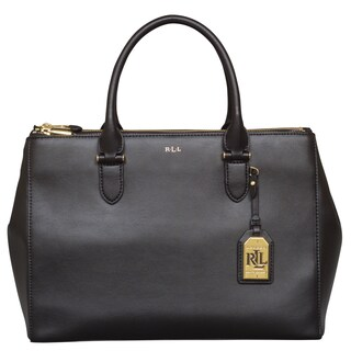 Ralph Lauren Winford Double Zip Satchel Bag