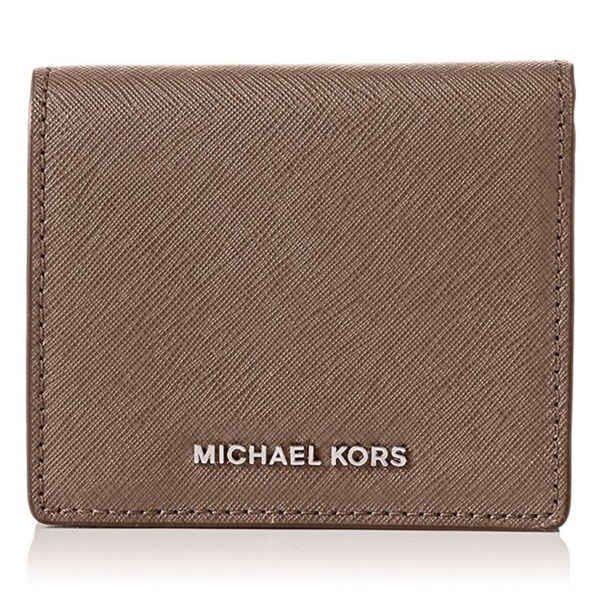 b8b2ab29a9488 Shop Michael Kors Jet Set Travel Cinder Carryall Card Case Wallet ...