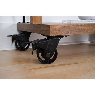 Haven Home Large Metal Black Casters by Hives & Honey (Set of 4)
