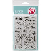Avery Elle Clear Stamp Set 4X6-Kitsch Christmas