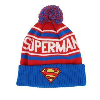 Superman Cuff and Pom Beanie