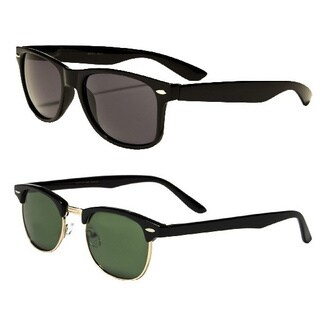 Mechaly Classic Clubmaster Style Sunglasses