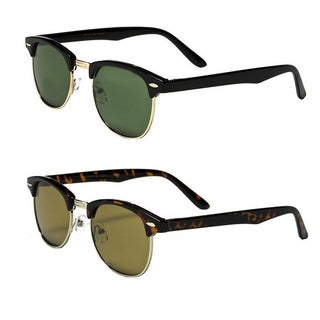 Mechaly Classic Clubmaster Style Sunglasses (Set of 2 Pairs)