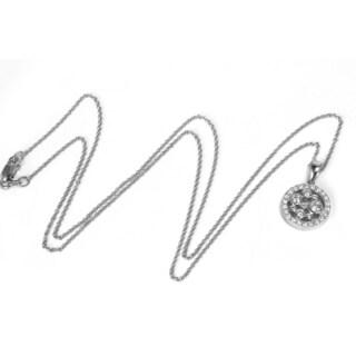 Sonia Bitton 14k White Gold 1/2ct TDW White Diamond Pendant (G-H, SI3-I1)