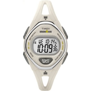 Timex Ironman Sleek 50 White Silicone Strap Watch