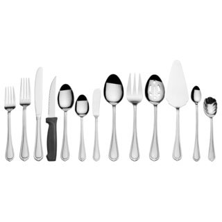 International Silver Nouveau 18.0 Stainless Steel Silverware Set (Case of 102)