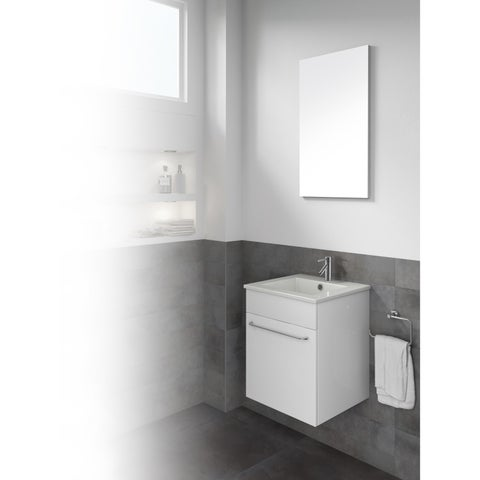 Dawn White Bathroom Vanity Set