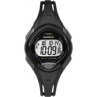 Timex Ironman Sleek 30 Black Resin Strap Watch