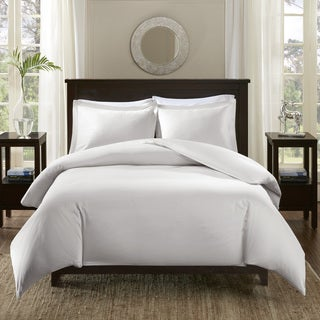 Madison Park Signature 600 Thread Count Infinity Cotton Duvet Cover Set (2 options available)