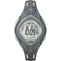 Timex Women's TW5M08600 Ironman Sleek 30 Gray Speckled Resin Strap Watch