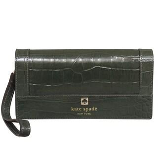 Kate Spade Perri Lane Croco Linney Wristlet Wallet