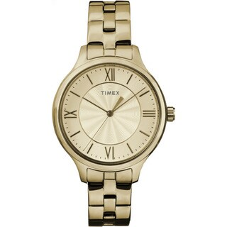 Timex Women's TW2R28100 Peyton Goldtone Stainless Steel Bracelet Watch