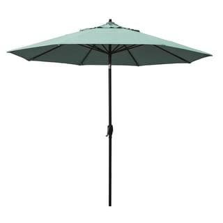 Astella 9' Rd. Crank Open, Tilt, Aluminum Market Umbrella, Sunbrella Fabric