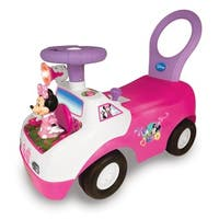 Kiddieland Disney Minnie Mouse Dancing Light and Sound Activity Ride-on