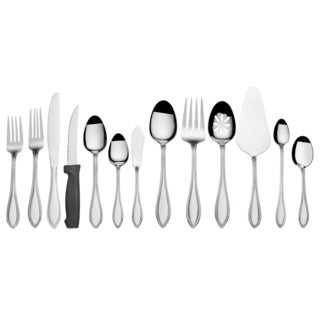 International Silver 18.0 Stainless-steel American Bead 102-piece Utensil Set