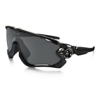 Oakley Men's Rectangle OO9290-01 Jawbreaker (Polished Black Frames / Black Iridium Lenses) Sunglasses