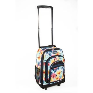 Everest 18-inch Tropical Wheeled Backpack