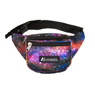 Everest Signature Galaxy Pattern 11.5-inch Waist Pack