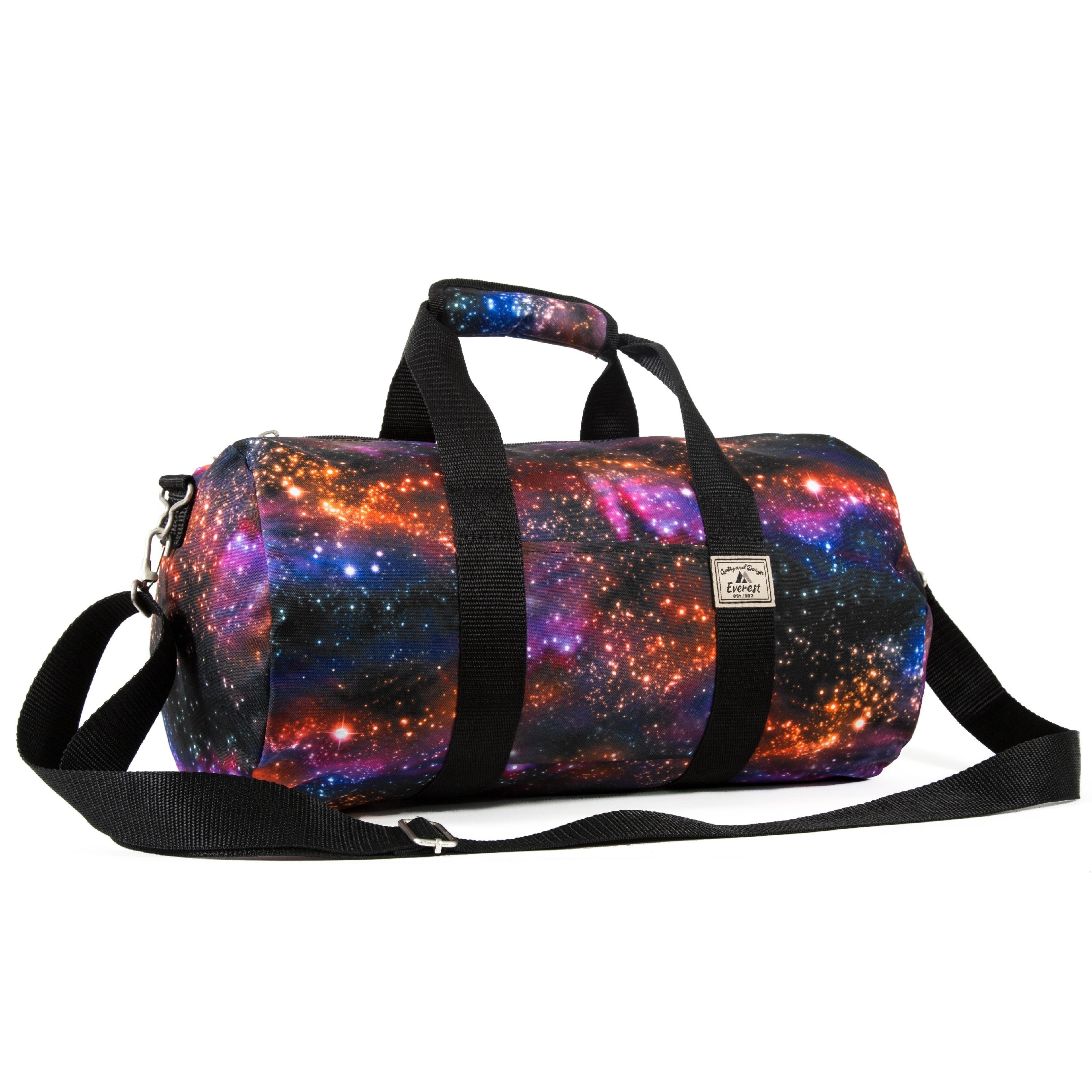 0a106d32cf Everest Galaxy Multicolored 16-inch Round Duffel Bag 742065010890
