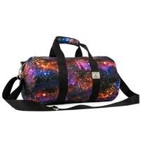 ed0e21b9eb53 Shop Everest Tropical Pattern 16-inch Round Duffel Bag - Free ...