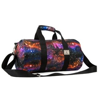 Everest Galaxy Multicolored 16-inch Round Duffel Bag