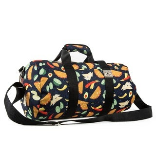 Everest Tacos Multicolored 16-inch Round Duffel Bag