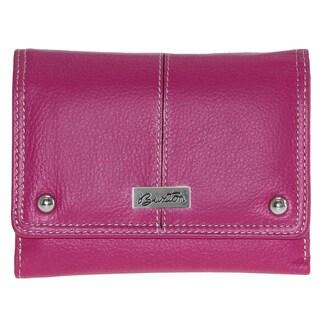 Buxton Westcott Leather Multi Organizer Wallet