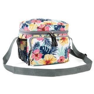 Everest Tropical Multicolored Shoulder Lunch Tote Bag