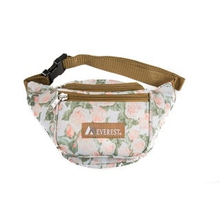 Everest 11.5-inch Signature Vintage Floral Pattern Waist Pack