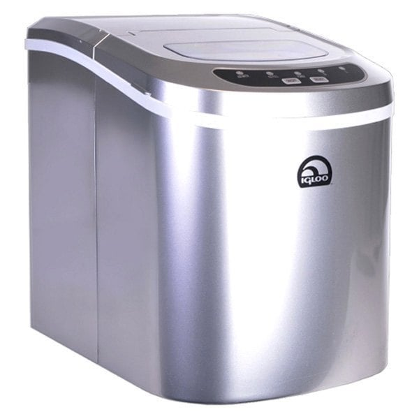 Igloo ICE102 Silver Counter Top Ice Maker