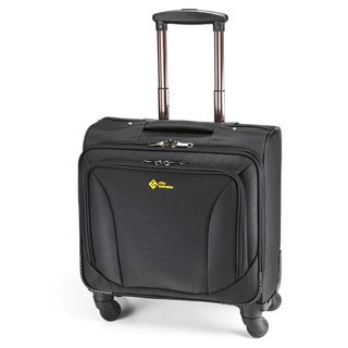 City Traveler Nylon 15-inch Laptop Carry Spinner Business Case