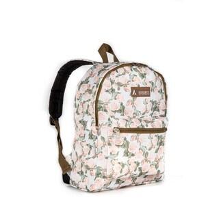 Everest Basic Vintage Floral 15-inch Backpack with Padded Shoulder Straps