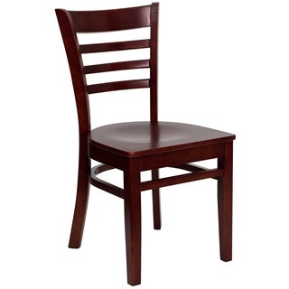 Spencer Mahogany Wood Classic Dining Chairs
