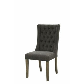 Mc505 Ribbed Mid Back Executive Office Chair In Grey