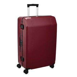 Zero Halliburton Travellers 26-inch Wine Hardside Spinner Suitcase