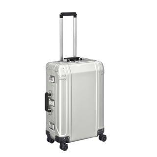 Zero Halliburton Geo Aluminum 2.0 24-inch Silver 4-Wheel Spinner Suitcase
