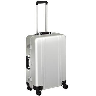 Zero Halliburton Classic Aluminum 24-Inch Silver 4-Wheel Spinner Suitcase