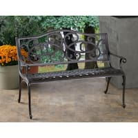 Alfresco Home Daffodil Garden Bench