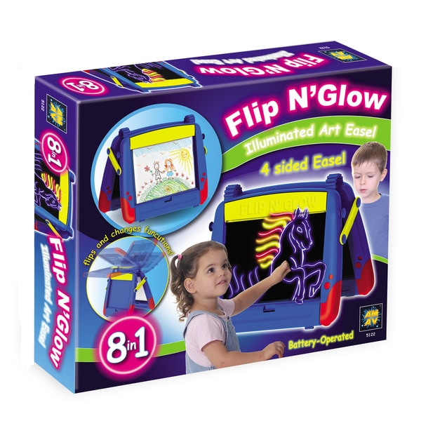 Amav Flip n Glow Table Top Easel