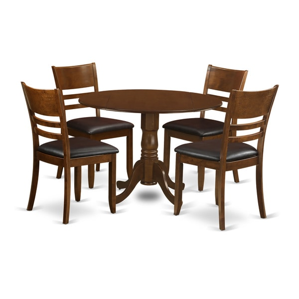 Dublin Espresso 5-Piece Dining Set