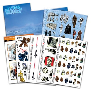 Savvi Star Wars Play Along Tattoo/Sticker Activity Kit