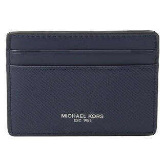 Michael Kors Harrison Navy Card Case